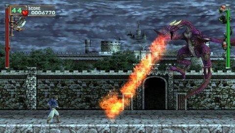 Hvis du tolererer den cheesy grafikken i 3d er Dracula X Chronicles en helt greit opplevelse, men ikke så mye mer. Heldigvis følger det med flere spill i denne pakken.