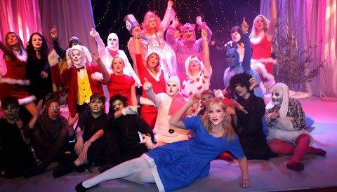 IMPONERTE: Alle som har billett, og ennå ikke har sett denne gjengen på scenen, kan glede seg.ALLE FOTO: LISBETH ANDRESEN