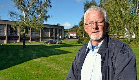 Ønsker samlokalisering: Snorre Petersen er klar på at det lokale kulturlivet fortsatt ønsker kulturhus med storsal i teaterparken. Foto: Hedda Hiller Elvestad