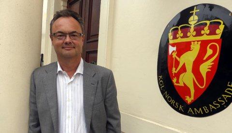 Ser mot Australia: Olav Myklebust har søkt på stillingen som ambassadør i Australia.