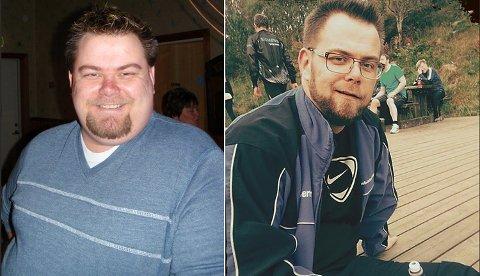 Ronny Vårdal har gått ned cirka 50 kilo etter fedmeoperasjonen. Det kan tydelig se på før- og etterbildene.