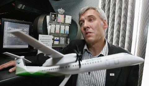 ØNSKEDRØM: Knut Kristoffersen har lenge ønsket seg fly til Murmansk. Han håper noen ganger i uken er realistisk.