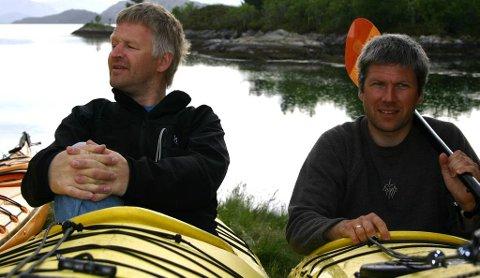 NYTT: Hans Erik Stenseth og Kjetil Høidal driv Florø-selskapet Kyst Aktiv. Dei prøver igjen med nytt treff i august.
