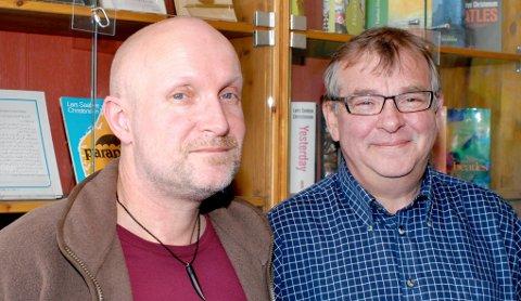Lars Saabye Christensen og Harald Mikal Jacobsen.