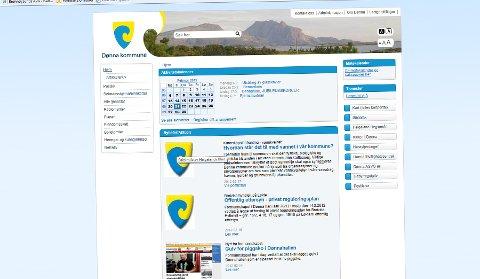Dønna kommune har fått ny hjemmeside