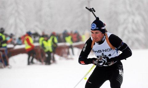Vegar Bergli tok sin første seier i norgescupen for senior i dag.