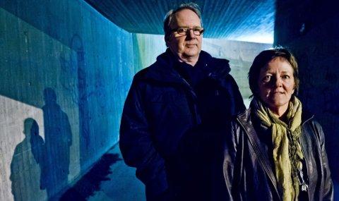 ETTERLYSER FORPLIKTELSER: Leder Marianne Lund Ahrn og styremedlem Erland Vestli i LEVE Akershus ønsker at myndighetene forplikter seg i kampen mot selvmord. De mener en null visjon er naturlig.
