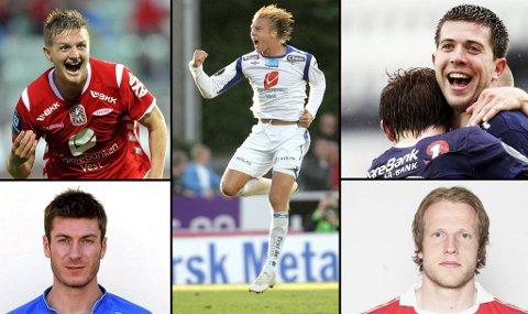 Erik Huseklepp, Alexander Søderlund, Martin Ørnskov, Tom Erik Breive og Andreas Moen kan stemmes på denne gang.