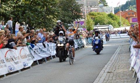 Anna Van Der Breggen vant første etappe av Ladies Tour of Norway lørdag ettermiddag.