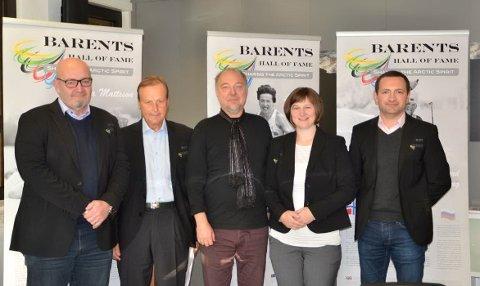 ALLE LAND MØTTES: Barents Sports Comittee hadde nylig et møte med Barentssekretariatet ? idrettssamarbeid går som normalt.