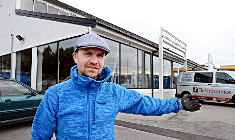 SNART: Svein Aage Neergaard blir daglig leder i den nye sportsbutikken som åpner på Løkkemyra senere i måneden.