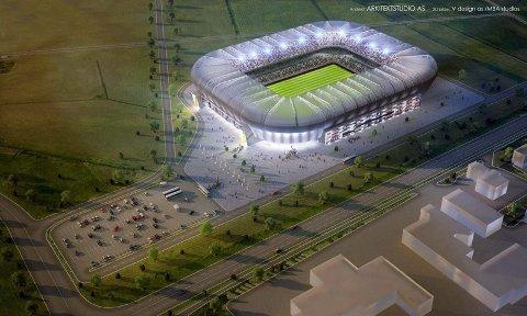 Stadionkamp. Bodø kommune ønsker å legge til rette for at et eventuelt EM-stadion vil bli plassert på Rønvikjordene, og prosessen er i gang.