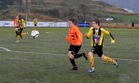 Unggutten Mats Dimitri Jensen storspilte i forsvar, og ble kåret til kampens ?Ballstadgutt?.