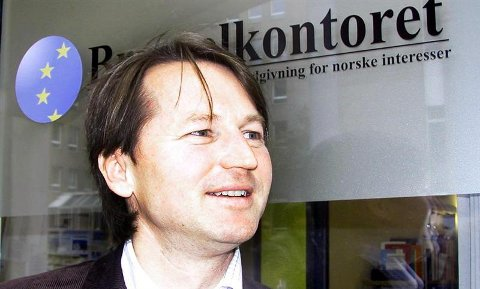 Paal Frisvold driver lobbyvirksomhet for norske interesser i Brussel.