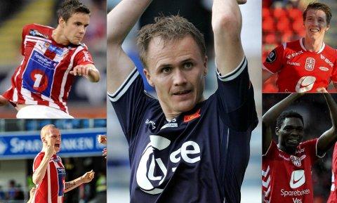 Remi Johansen, Vidar Nisja, Birkir Sævarsson, Zdrenek Ondrasek og Bentley er kandidatene du kan stemme på denne runden.