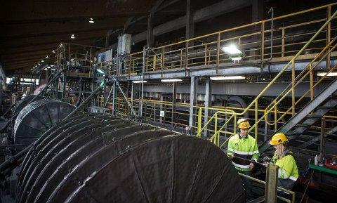 SLITER: Sydvaranger Gruve har holdt seg flytende ved å øke produksjonen, men det er grenser for hvor lenge det kan holde.