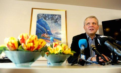 KrFs leder Dagfinn Høybråten.