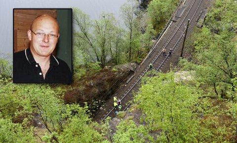 Det var Sigbjørn Rafdal (innfelt) som omkom i ulykken.