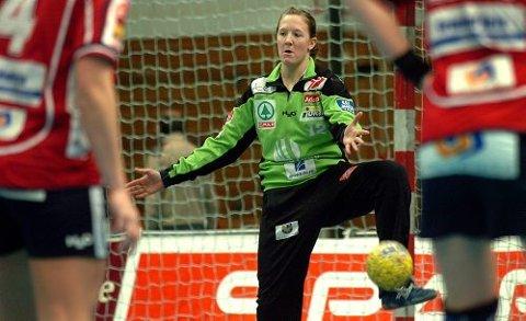 FARVEL: Therese Brorsson avslutter sin tid i Gjerpen med lørdagens bonuskamp mot Bækkelaget.