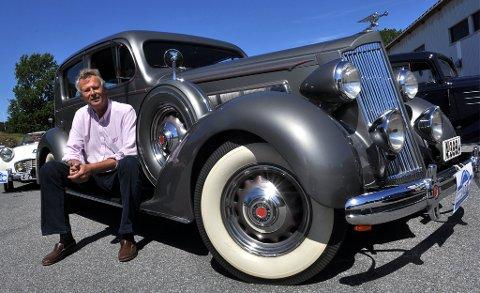 Sven Thorvaldsens Packard 120B 1936-modell skal være den eneste i sitt slag i verden.
