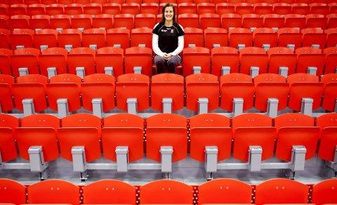 Ensom majestet: Linn-Kristin Riegelhuth Koren er LHKs desiderte måldronning gjennom tidene. De to årene hun spilte med Heidi Løke måtte hun imidlertid gi fra seg tronen, men nå troner hun igjen øverst på målstatistikkene.