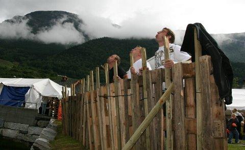 Brødretrio fra Haugesund tørrtrener. Fra venstre Frode ble nummer to i år, Lars Øyvind som vant i 2007 og Thore Skarsgård.