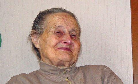 AGNETE GRØNNVOLL: 15. september gikk Agnete Grønvoll fra Furuflaten bort, 91 år gammel. Foto: PrivatFoto: Privat