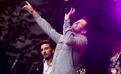 POP: New Canvas har planer om å gi ut album neste sommer. Her er vokalist Willy Sharma.Foto: Lisbeth Andresen