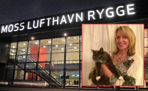 Elisabeth Øvstedal Fakhri jublet da Puse (2) kom hjem fra sin sju mil lange tur på egen hånd. (Foto: Fredriksstad Blad/ privat)