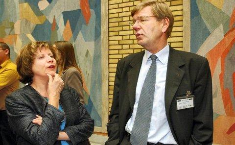 SPRÅKKAMP: NHO-sjef Finn Bergesen vil stå på barrikadene for det norske språket.