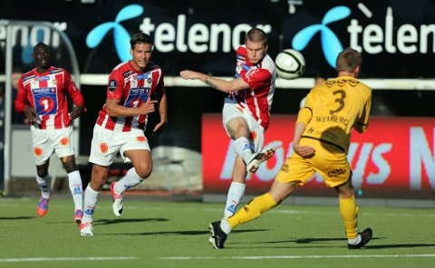 Zdenek Ondrasek scoret kampens eneste mål.