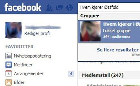 HVEM KJØRER: Det finnes en rekke grupper som oppfordrer til pirattaxikjøring, mener drosjenæringen. Faksimile Facebook.com