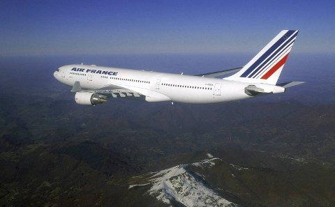 Airbus A330-200. Et fly av denne typen er savnet over Atlanterhavet. Flyet skulle fra Brasil til Frankrike.