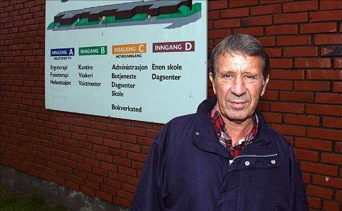 Sparebevisste: Harald Eriksen mener at enkelte kommuner bevisst venter i det lengste med å skaffe boliger til sine utviklingshemmede innbyggere. For å spare penger.