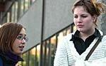 ENGASJERTE Linn Jeanette Winciansen 18 og Lila Grønsnes 19 har begge opplevd trafikkulykker på nært hold.