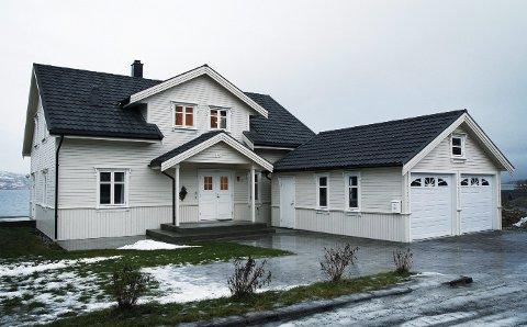 Coop Helgeland har kjøpt huset til adm. dir. Odd Harald Ribe i Tromsø. Prisantydningen for eiendommen var på 5,2 millioner kroner. Foto: Torgrim Rath Olsen, Nordlys