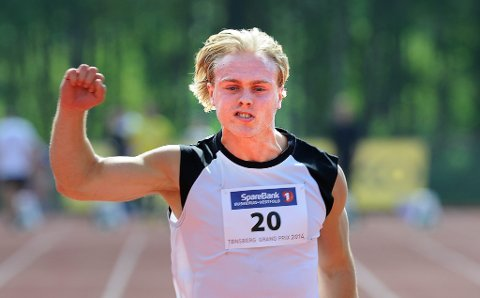 Even Pettersen tok bronse på 200 meter.