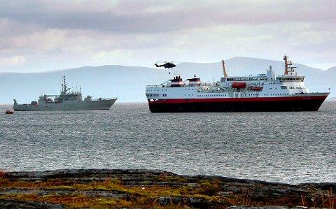 SAMARBEID: Rednings- og beredskapsøvelsen Barents Rescue illustrerer det vidtgående samarbeidet i nord, også militært. Foto: Finnmark Dagblad