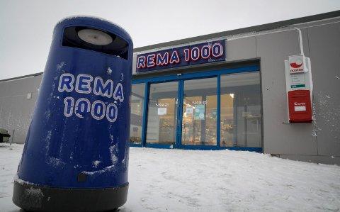 LÅSTE SEG INN: På Rema i Kirkenes.