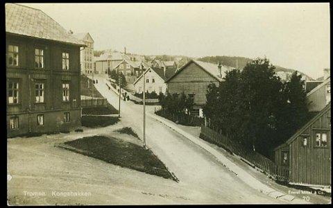 VERDIFULLT: Ubrukt postkort fra Mittet forlag med motiv fra  Kongsbakken. 5400 kroner pluss salær på 20 prosent er en samler villig til å betale. Kortet er fra begynnelsen av 1900-tallet.