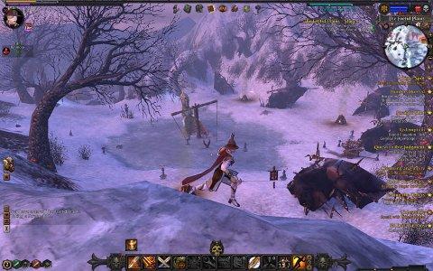 FLOTT: Det er ikkje mangel på djupne i Warhammer Online. Og ein treng ikkje ein dyr PC for å spele det heller. Systenkrava er omtrent midt mellom WOW og Age of Conan.
