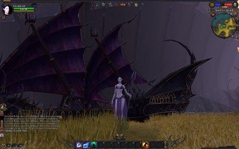 DAG 1: Warhammer Online: Age of Reckoning har vore ute nokre månadar. Dette skjermbiletet tok vi heilt i byrjinga, rett etter at vi hadde laga vår første kaos-orienterte karakter.