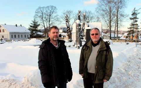 Kirkesjef Johannes Sørhaug og leder i planutvalget Jan Lindahl har vært på tre dagers studietur for å se på nyere kirkebygg på sørvestlandet. Jan Lindahl tror ikke det er mulig å bygge en moderne brukskirke uten arkitektkonkurranse.