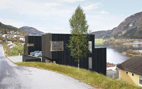 Slik vil det sjå ut i Øvre Fossheim om arkitektfirmaet Xform får det som dei vil.