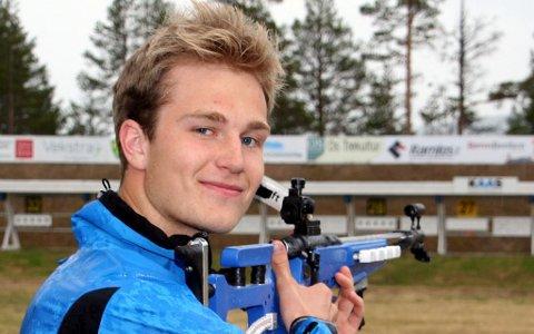 Kristoffer Langøien Skjelvik ble nummer to på lørdagens Norgescuprenn på Geilo.