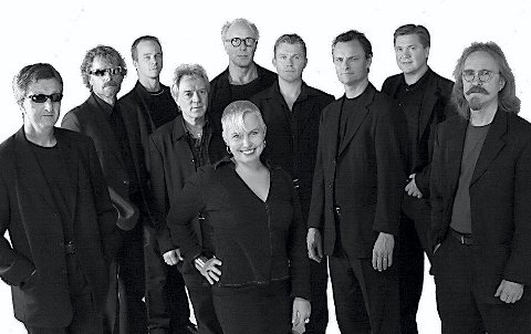 FULL TRØKK: Romeriksbandet Black'n Blues.