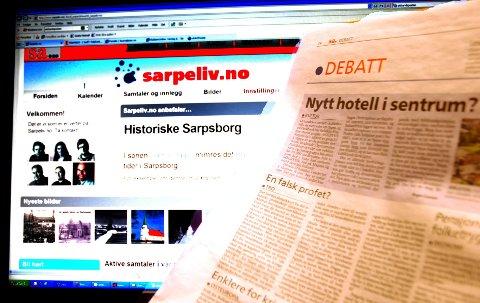 Debatten på nettet blir mer samtalepreget enn debatten på leserbrevsidene i avisene. Men begge steder er SAs intensjon å skape gode og saklige debatter.