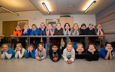 Hallingby skole har skrevet kapittel 2 i skrivestafetten.