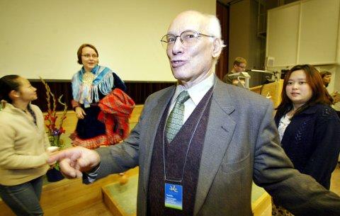 SKRYTER AV NORGE Rodolfo Stavenhagen er blant annet i Norge for å lære mer om Sametinget og Finnmarksloven.