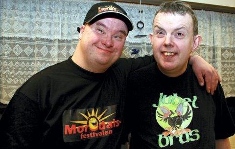Jan Cato Stenskjær og Åge Bergseteren skal være frontfigurer for den nye festivalen.